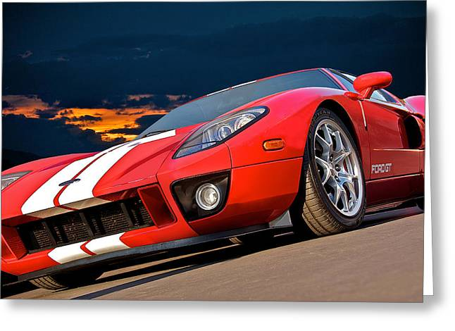 Rally Greeting Cards - 2011 Ford GT I Greeting Card by Dave Koontz