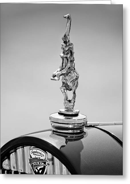 2012 Santarsiero Atlantis Concept Hood Ornament Greeting Card by Jill Reger