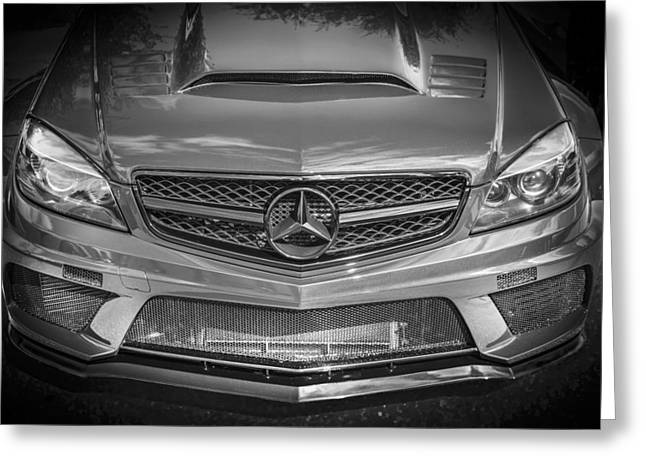 Power Twins Photographs Greeting Cards - 2013 Mercedes SL AMG Greeting Card by Rich Franco