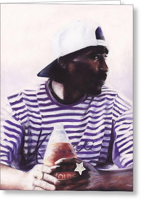 Beer Pastels Greeting Cards - 2Pac - 40 Greeting Card by Raymond L Warfield jr
