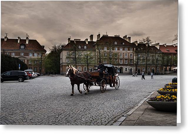 Poland Greeting Cards - Other side of light - III Greeting Card by Nathalie Hope