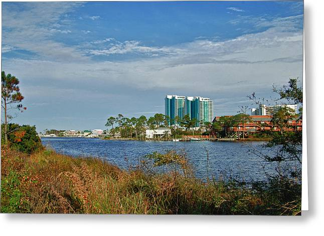 Crimson Tide Greeting Cards - 5 oclock on Cotton Bayou Greeting Card by Michael Thomas