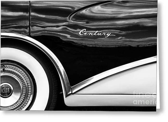 Tyre Greeting Cards - 56 Buick Style Greeting Card by Tim Gainey