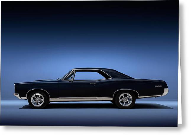 American Muscle Cars Greeting Cards - 67 Gto Greeting Card by Douglas Pittman