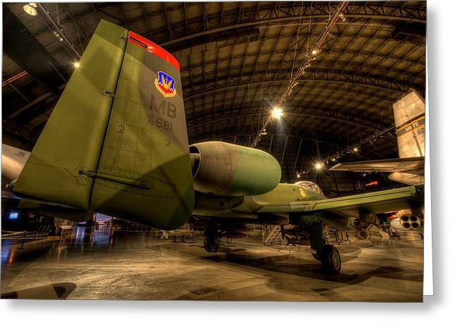 A-10a Tank Killer Greeting Card by David Dufresne