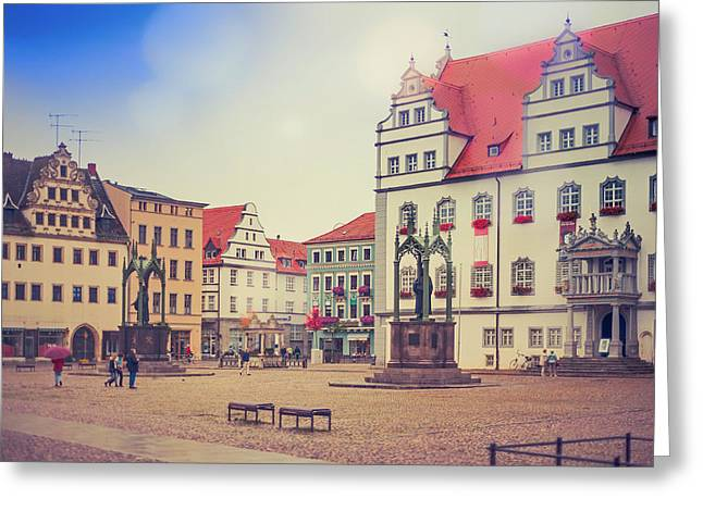 Analog Greeting Cards - A Day in Wittenberg Greeting Card by Nicole Kohler
