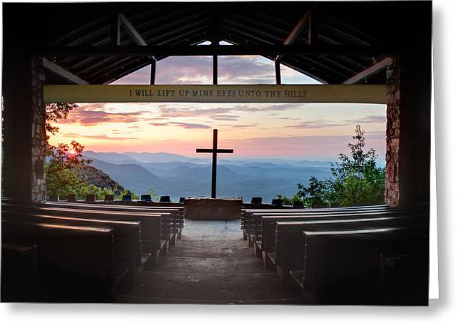 Religious Prints Photographs Greeting Cards - A Good Morning at Pretty Place Greeting Card by Rob Travis