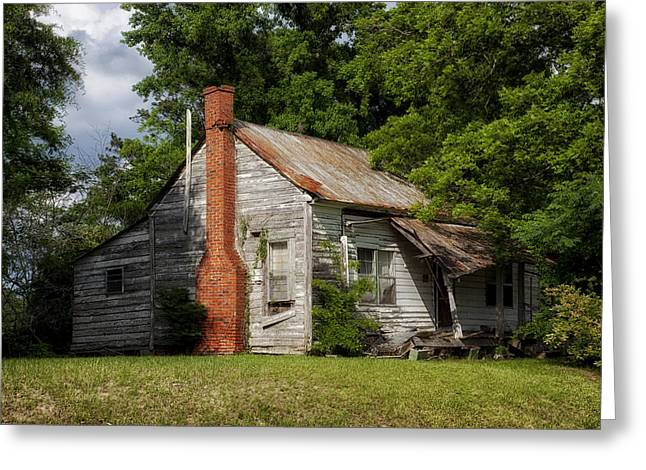Shack Greeting Cards - Abandoned Shack in Alabama Greeting Card by Mountain Dreams