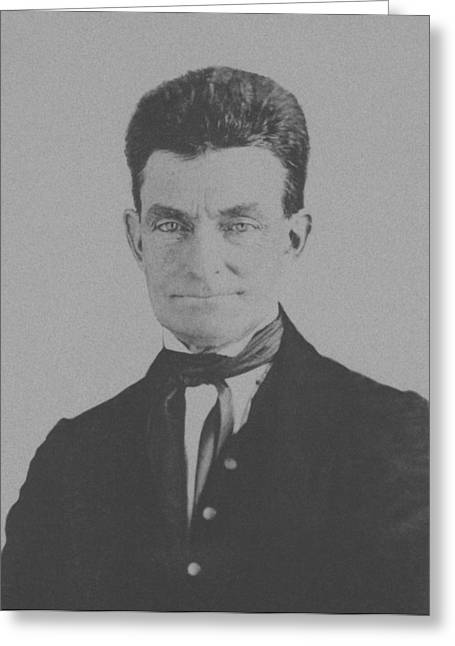 Harpers Ferry Greeting Cards - Abolitionist John Brown Greeting Card by War Is Hell Store