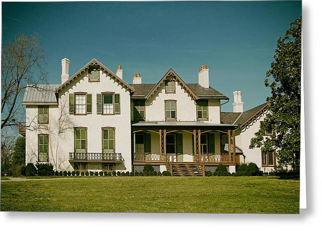 Abraham Lincoln Photos Greeting Cards - Abraham Lincolns Summer Cottage Greeting Card by Mountain Dreams