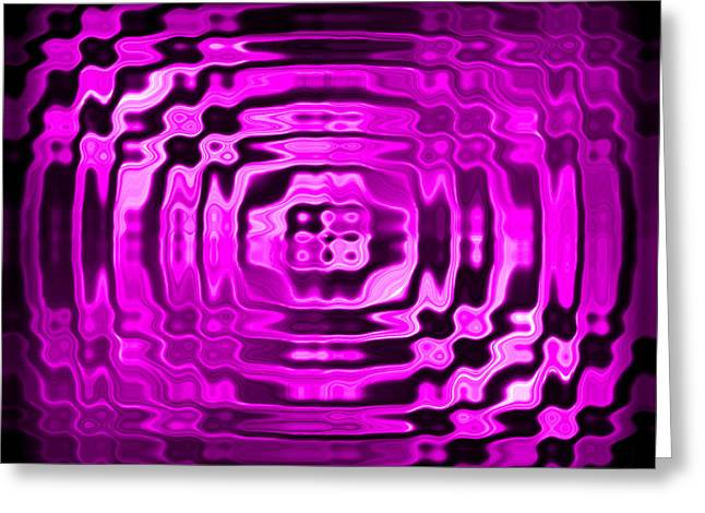 Awesome Greeting Cards - Abstract 134 Greeting Card by J D Owen