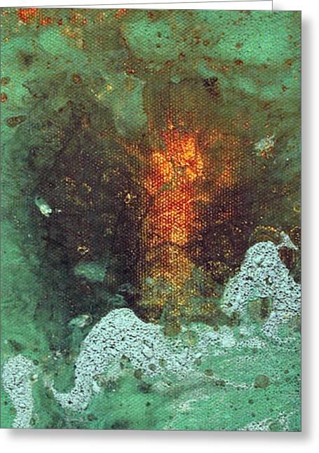 Abstract Digital Paintings Greeting Cards - Abstract 2 Greeting Card by Corina Bishop