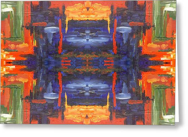 Tablets Greeting Cards - Abstract 463 Greeting Card by Patrick J Murphy