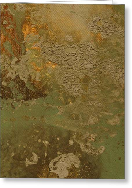 Abstract Digital Paintings Greeting Cards - Abstract Greeting Card by Corina Bishop