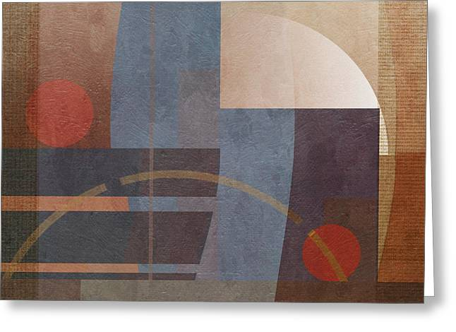Abstract Tisa Schlemm 01 Greeting Card by Joost Hogervorst