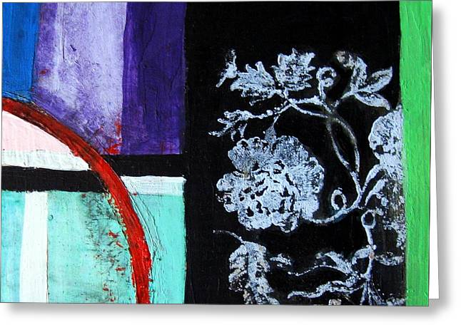 Abstract Greeting Card by Venus