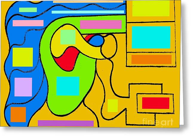 Harvest Mixed Media Greeting Cards - Abstraction 78 Greeting Card by Patrick J Murphy
