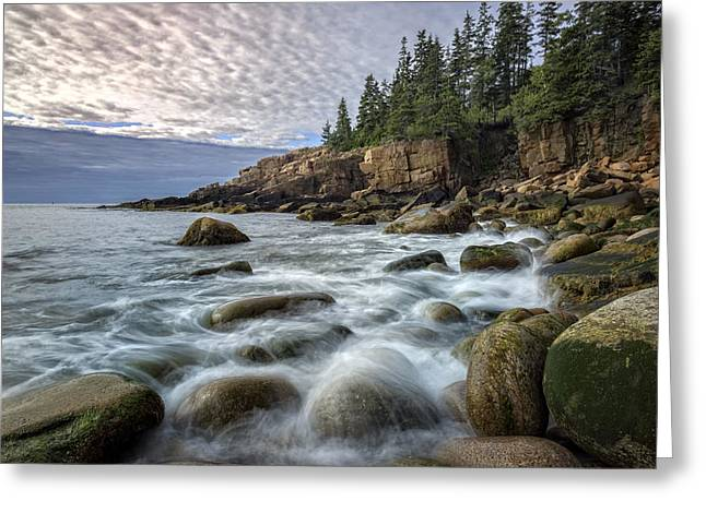 Maine Beach Greeting Cards - Acadia Greeting Card by Rick Berk
