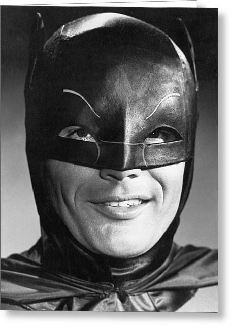 Adam Photographs Greeting Cards - Adam West Greeting Card by Silver Screen