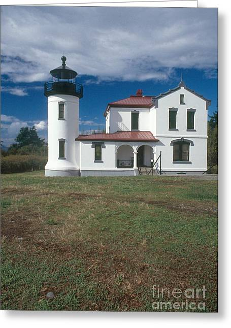 Fort Casey Greeting Cards - Admiralty Head Lighthouse, Wa Greeting Card by Bruce Roberts