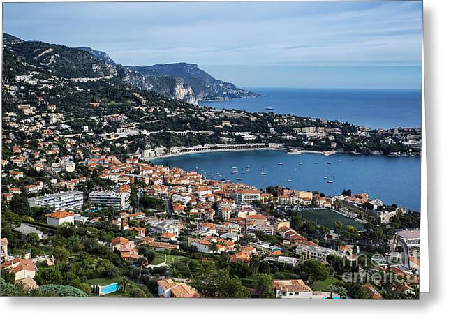 Azur Greeting Cards - Aerial Nice Greeting Card by John Greim