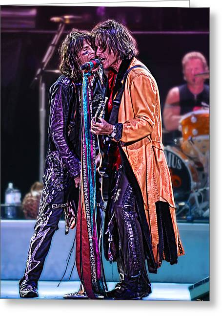 Aerosmith Greeting Card by Don Olea