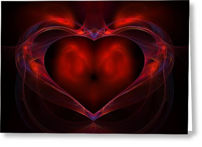 Lyle Hatch Greeting Cards - Aflame Greeting Card by Lyle Hatch