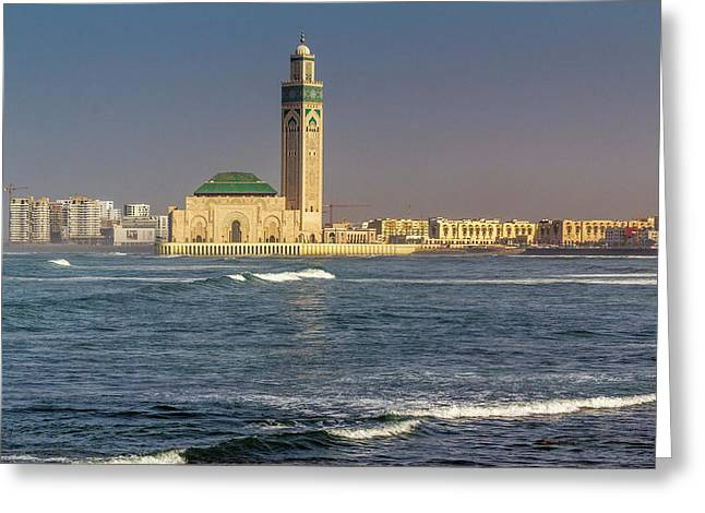Africa, Morocco, Casablanca Greeting Card by Emily Wilson