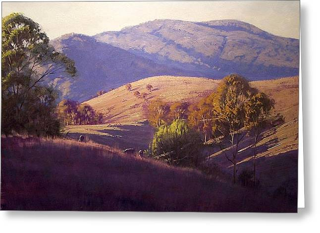 Afternoon Light Greeting Cards - Afternoon Shadows Greeting Card by Graham Gercken