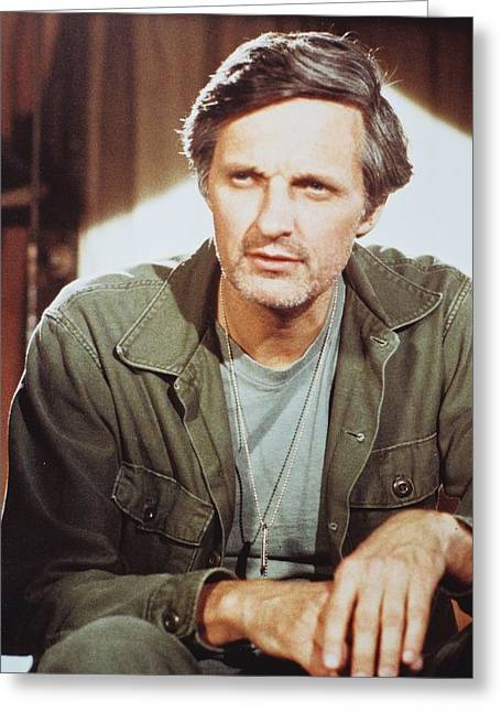 M Greeting Cards - Alan Alda in M*A*S*H  Greeting Card by Silver Screen