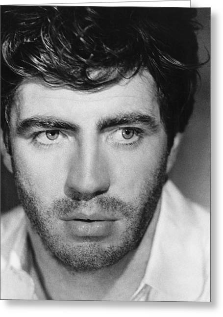 Bates Greeting Cards - Alan Bates Greeting Card by Silver Screen