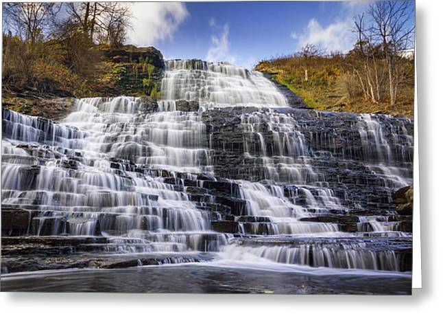 Waterfall Greeting Cards - Albion Falls Greeting Card by Mike Goodwin