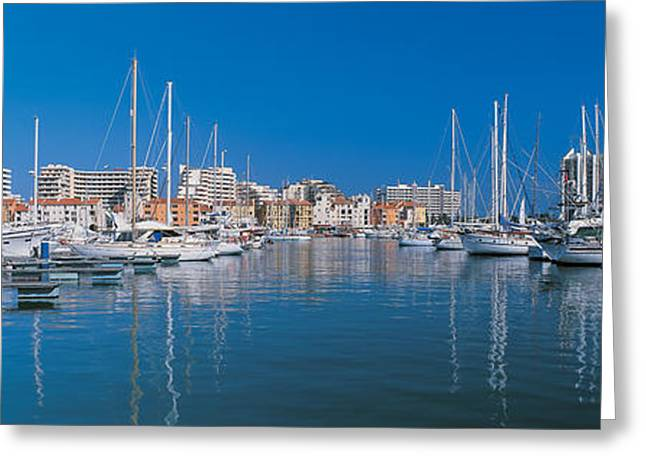 Calm Water Reflection Greeting Cards - Algarve Portugal Greeting Card by Panoramic Images