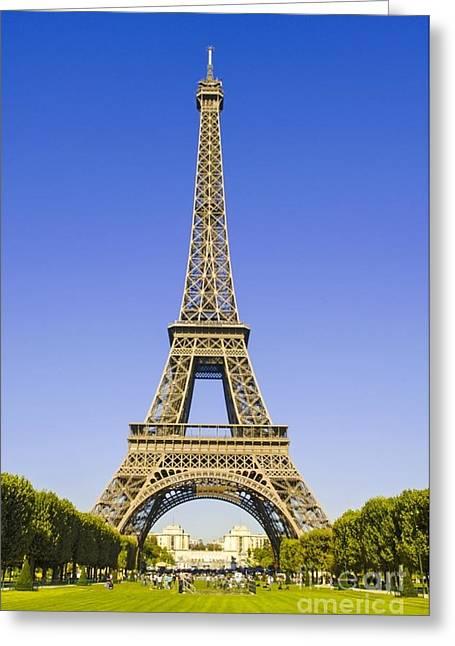 Eiffelturm Greeting Cards - All-fr964996 Greeting Card by Karl Thomas