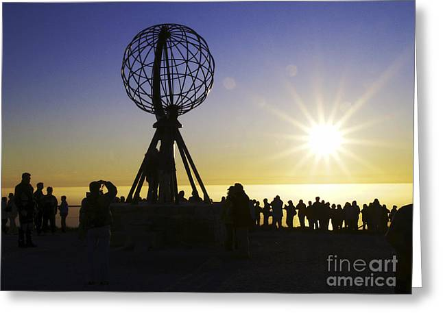 Norwegian Sunset Greeting Cards - All-no821241 Greeting Card by Karl Thomas