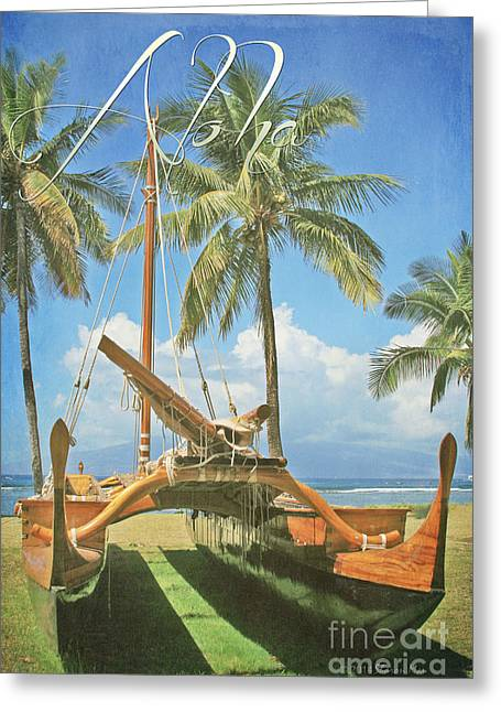 Oi Greeting Cards - Aloha Greeting Card by Sharon Mau