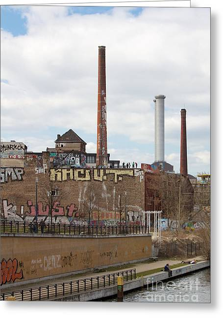 Coolant Greeting Cards - Alte Eisfabrik Berlin Greeting Card by Jannis Werner