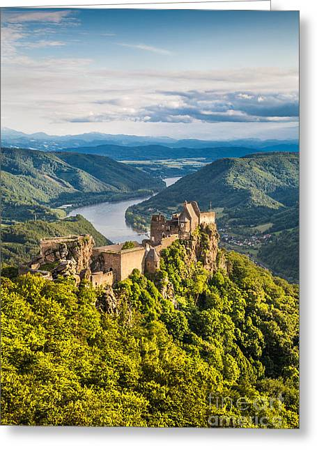 Rolling Stone Greeting Cards - Ancient Austria Greeting Card by JR Photography