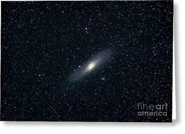 Andromeda Galaxy Greeting Cards - Andromeda Galaxy Greeting Card by John Chumack