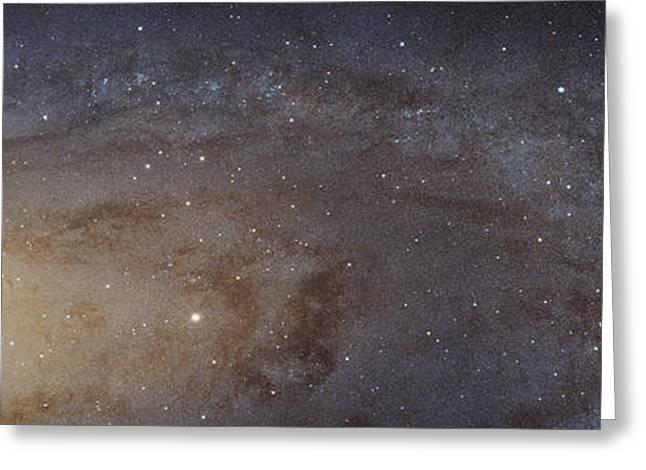 Messier 31 Greeting Cards - Andromeda Galaxy Mosaic Greeting Card by Robert Gendler