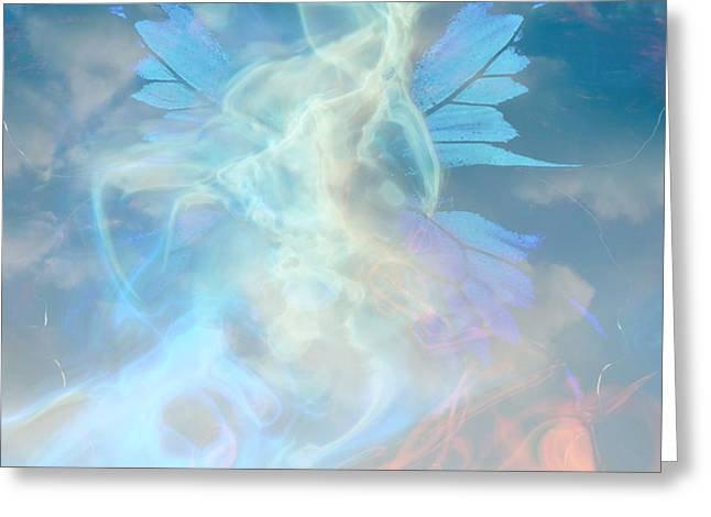 - Angel Wings and Heaven  Greeting Card by Sherri  Of Palm Springs