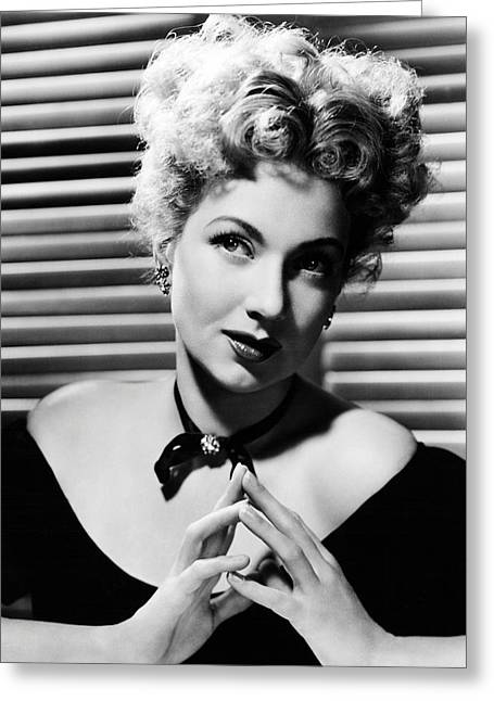 Ann Greeting Cards - Ann Sothern Greeting Card by Silver Screen