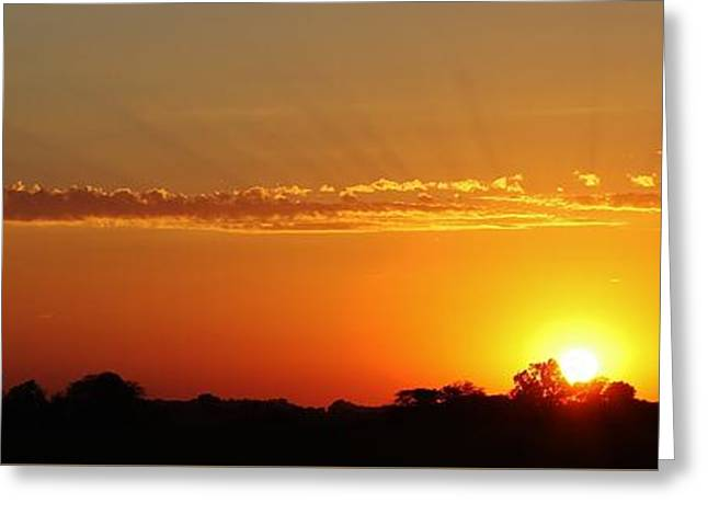 Another Day Passes Greeting Card by Bruce Bley