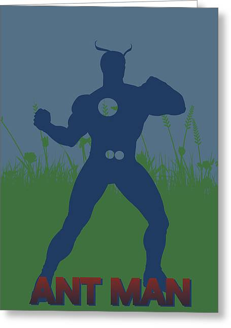 Black Widow Photographs Greeting Cards - Ant Man Greeting Card by Joe Hamilton