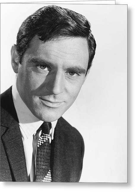 Anthony Greeting Cards - Anthony Newley Greeting Card by Silver Screen