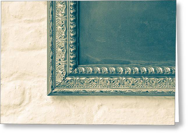 Abstract Style Greeting Cards - Antique frame Greeting Card by Tom Gowanlock