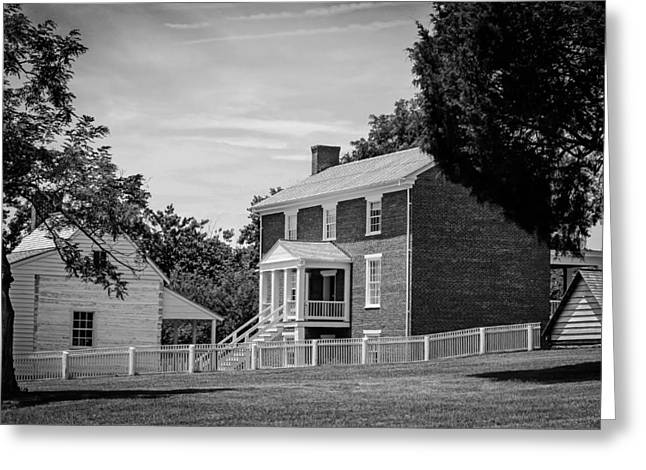 E Black Greeting Cards - Appomattox Courthouse - Virginia Greeting Card by Mountain Dreams