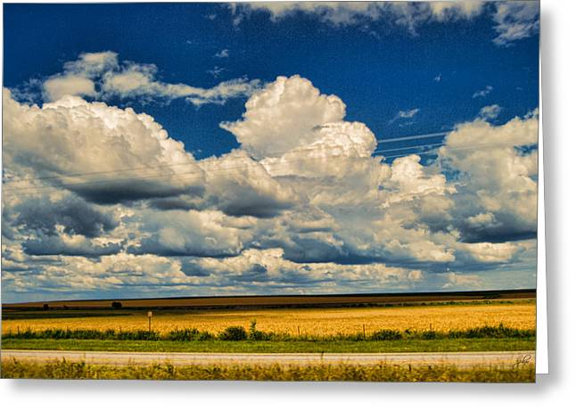 Shed Digital Greeting Cards - Approaching Storm Greeting Card by Paulette B Wright