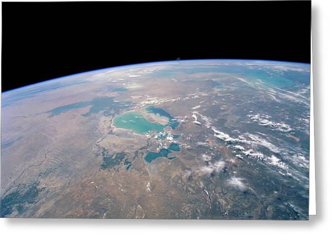 Aral Sea Greeting Card by Nasa