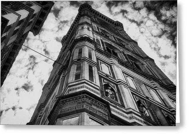 Florence Greeting Cards - Architectural Detail in Florence Italy Greeting Card by Mountain Dreams